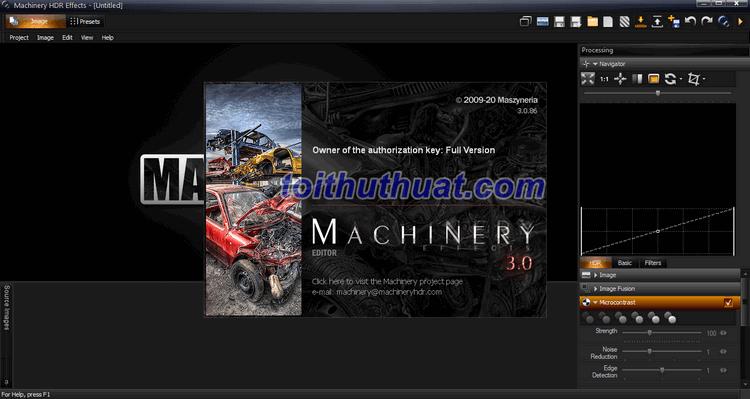 Tải Machinery HDR Effects Full Miễn Phí Cho PC