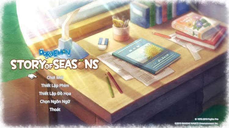 Hướng dẫn Tải Doraemon Story of Seasons Việt Hóa