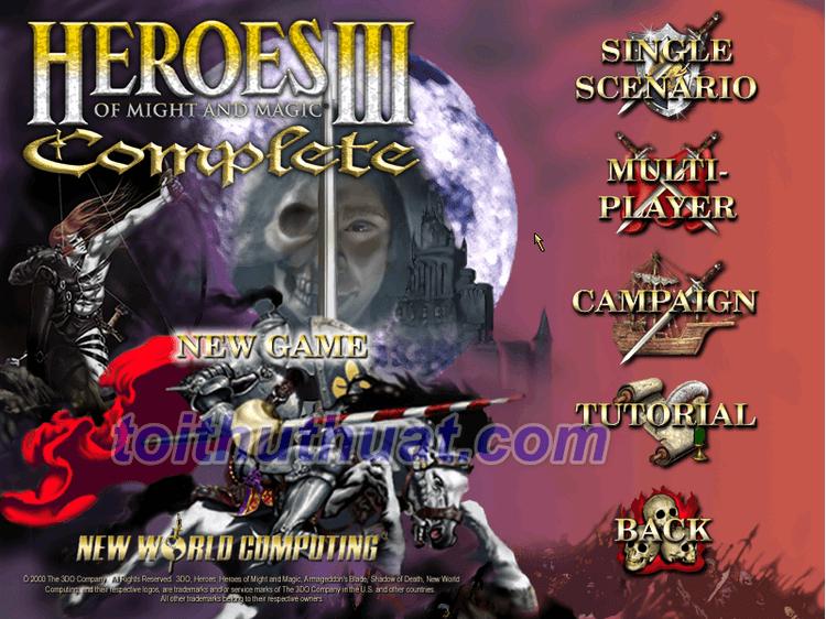 Game Heroes III có nhiều chế độ chơi hấp dẫn cho anh em lựa chọn để trải nghiệm
