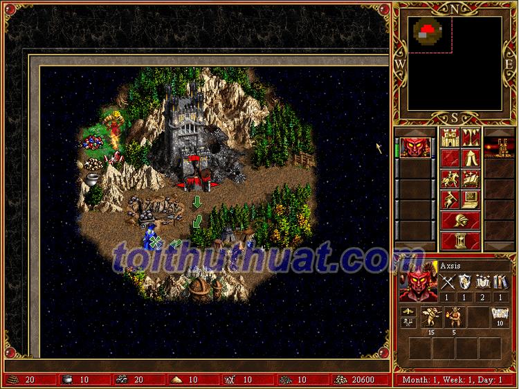 Cài đặt game Heroes of Might and Magic III về máy tính