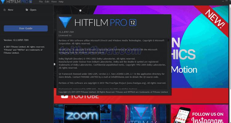 Hướng dẫn tải và cài đặt phần mềm HitFilm 12.2.8707.7201 Pro Full Key
