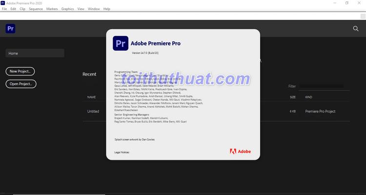 Hướng dẫn cài đặt & tải Adobe Adobe Premiere Pro 2021 Full Cr@ck [Miễn Phí]