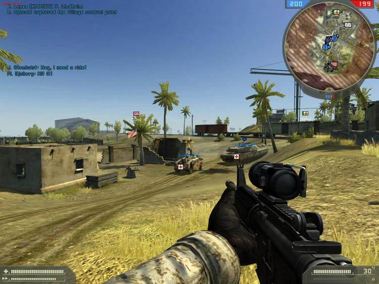 Go go go, cùng admin chiến tựa game Battlefield 2 thôi nào