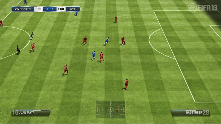 Cùng trải nghiệm tựa game offline Fifa13