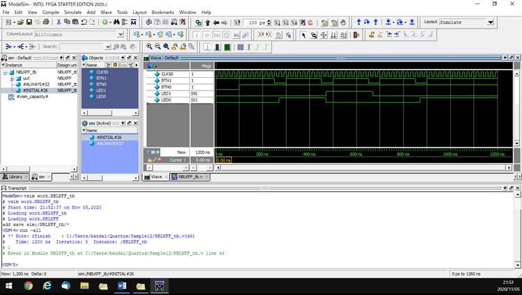 Mentor Graphics ModelSim SE 2020 - Phần mềm lập trình mô phỏng FPGA
