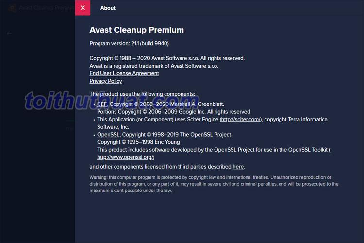 Tải Avast Cleanup Premium 2020 Full Key Activate Miễn Phí