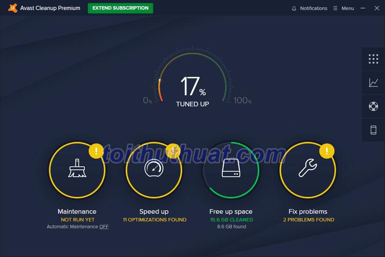 Avast Cleanup Premium 2020 - Dọn dẹp và tăng tốc PC