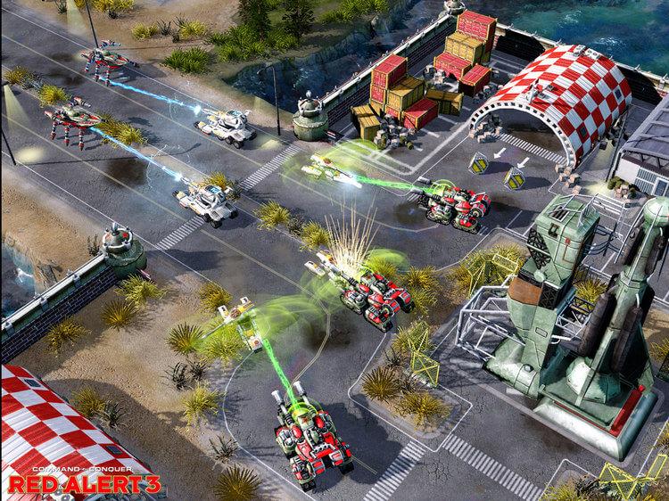 Cùng chiến ngay tựa game Command & Conquer 3 (game báo động đỏ)