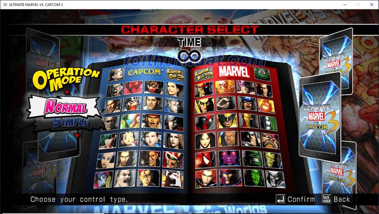 Game đối kháng Ultimate Marvel vs Capcom hấp dẫn