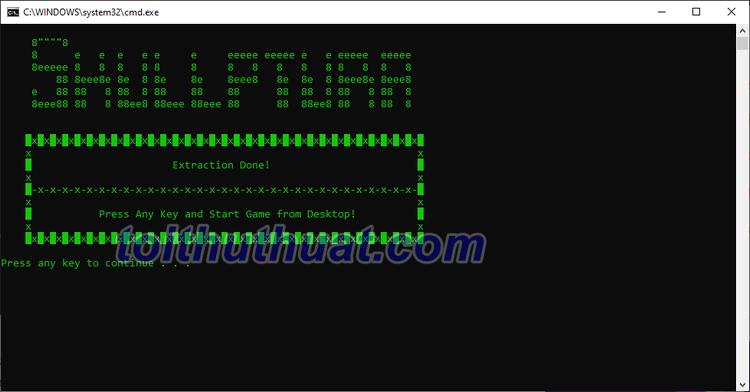 Qúa trình cài đặt game Command & Conquer3 quá đơn giản