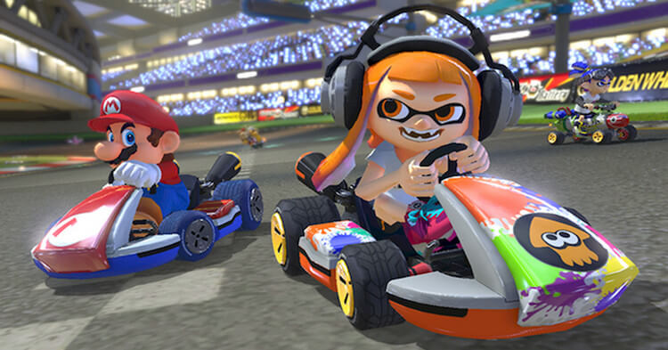 Lối chơi game Mario Kart 8 Deluxe cực hấp dẫn