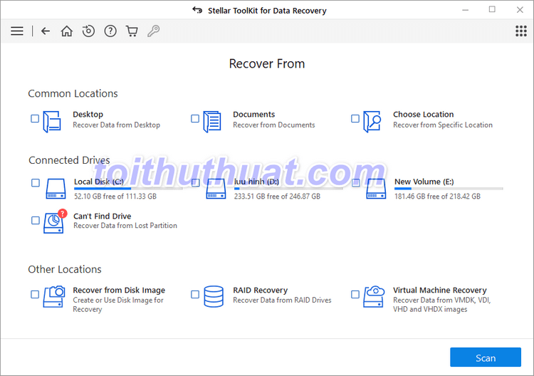 Stellar Toolkit for Data Recovery 10.1.0.0 Multilingual
