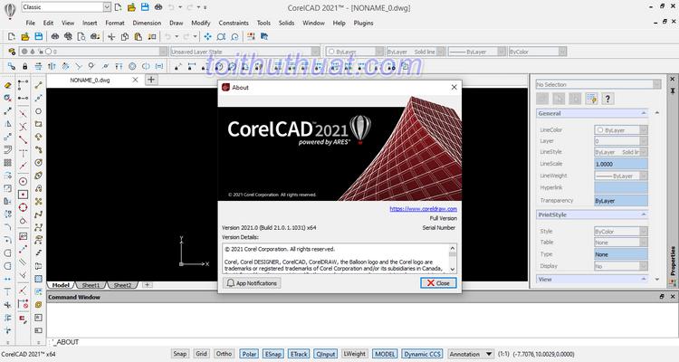 Tải CorelCAD 2021 Full Crck [Mới Nhất]