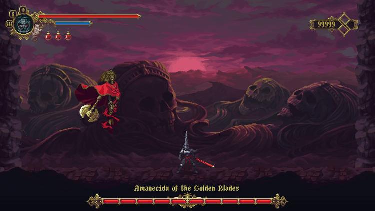Game Blasphemous The Stir of Dawn
