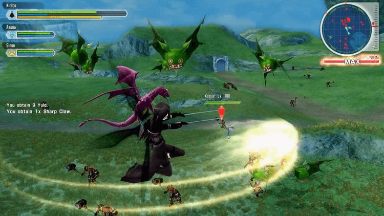 Cấu hình yêu cầu Game Sword Art Online Lost Song