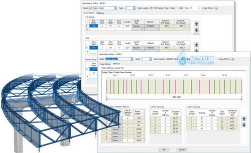 CSI Bridge 23 - Phân tích và thiết kế Cầu