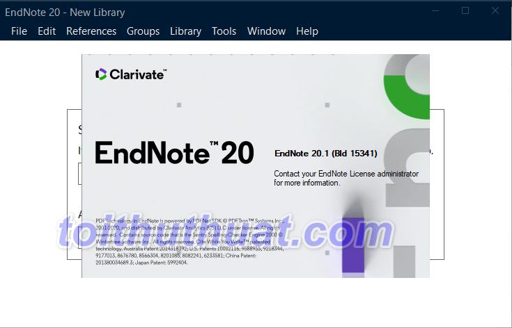 EndNote 20 - Quản lý thư mục & tài liệu