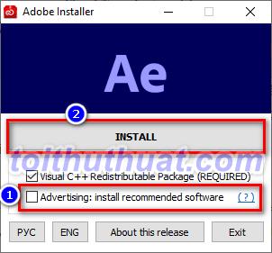 Hướng Dẫn Cài Đặt Adobe After Effects CC 2021