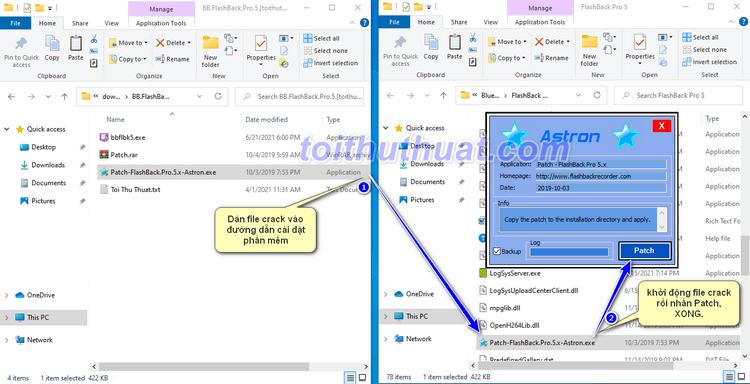 Hướng Dẫn Cài Đặt BB FlashBack Pro 5