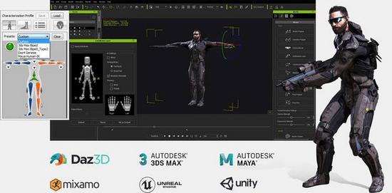 Reallusion 3DXchange 7 Pipeline - Hỗ trợ thiết kế nhân vật 3D