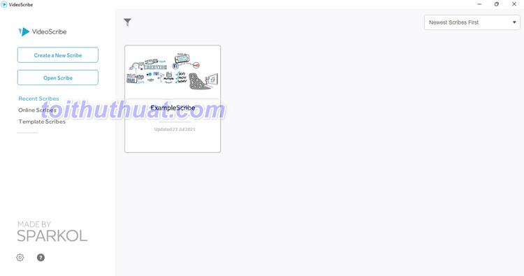 Tải VideoScribe Pro 3.7.3103 Full Crck Mới Nhất [Miễn Phí]