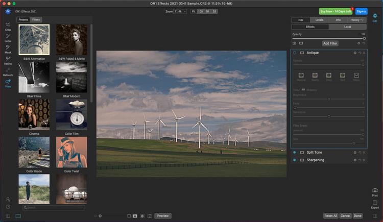 ON1 Effects 2021 - Phần mềm chỉnh sửa màu