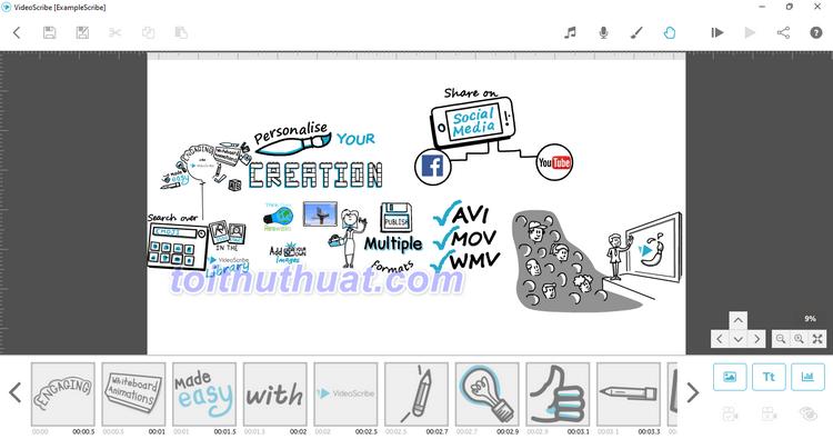 VideoScribe 2021 - Tạo video bằng bảng vẽ