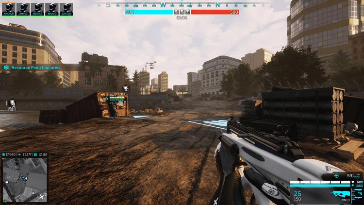 Lối chơi Eximius: Seize the Frontline