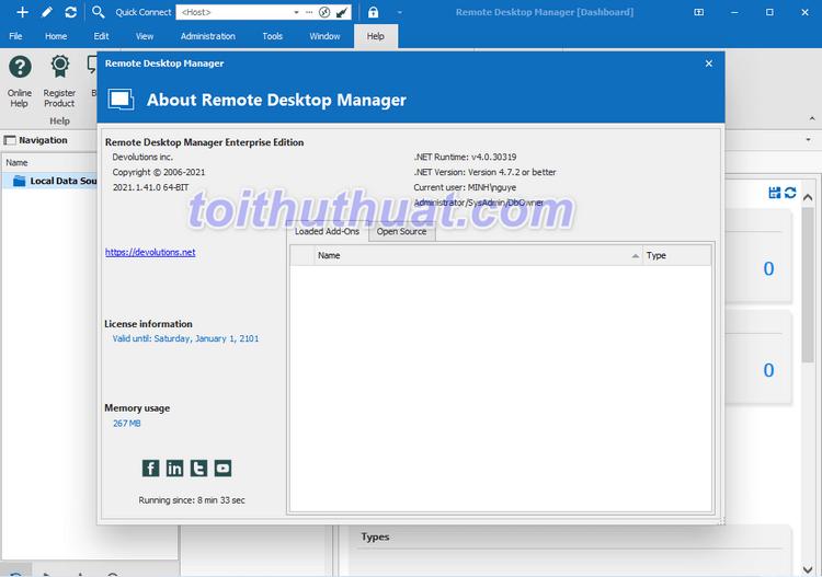 Tải Remote Desktop Manager Enterprise 2021 Full Crck [Miễn Phí]
