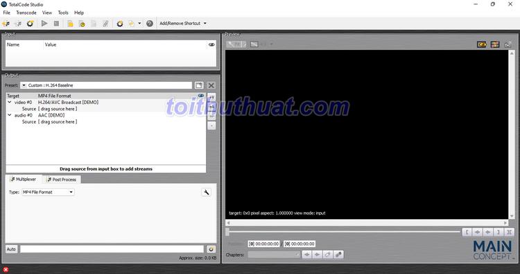 TotalCode Studio v5 - Xử lý video, âm thanh