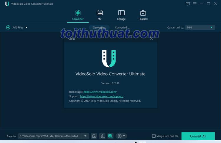 VideoSolo Video Converter Ultimate 2 - Chuyển đổi Video