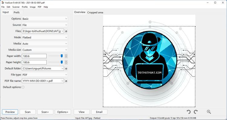 VueScan Pro 9 - Hỗ trợ quét ảnh chuyên nghiệp