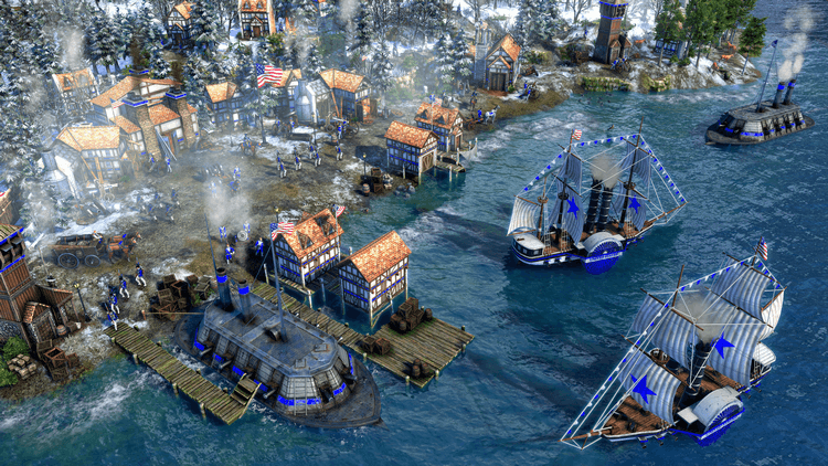 Age of Empires III Definitive Edition United States Civilization