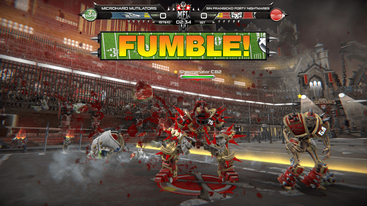 Lối Chơi Game Mutant Football League - Sin Fransicko Forty Nightmares