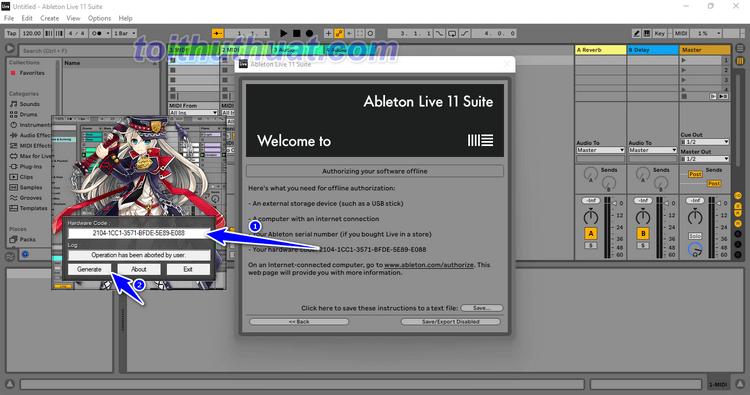 Hướng Dẫn Cài Đặt Ableton Live Suite 11