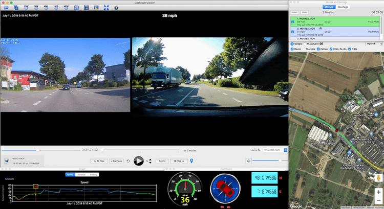 Tải Dashcam Viewer 3 - Phần mềm theo dõi camera hành trình