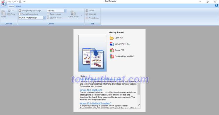 Solid Converter PDF 10- Chuyển đổi tài liệu PDF