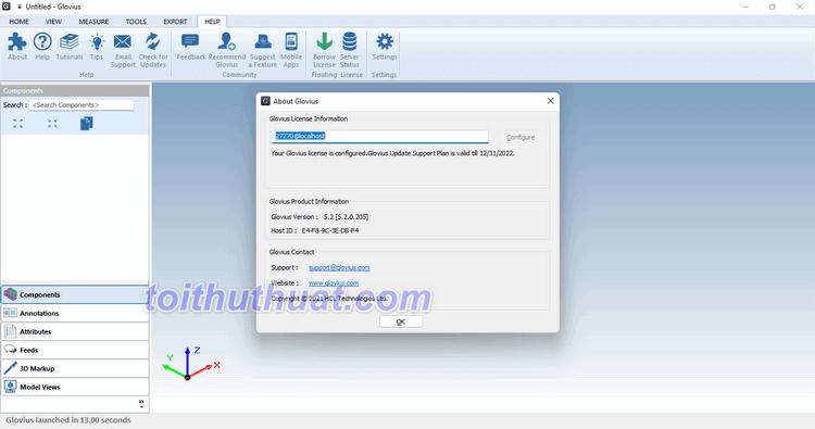 Geometric Glovius Pro 5 - Quản lý tệp CAD