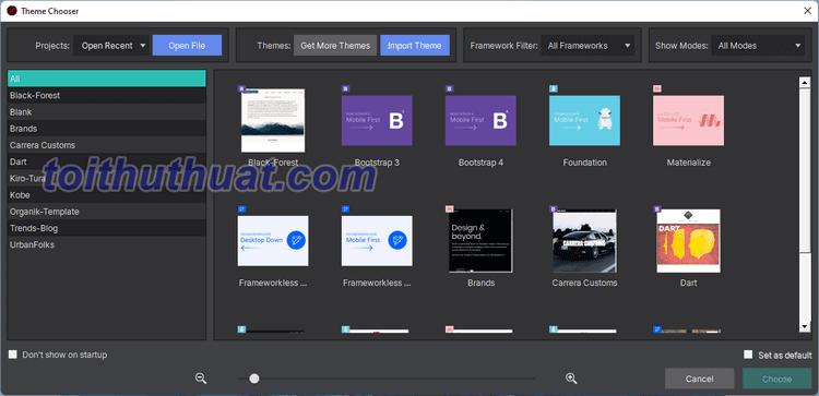 Responsive Site Designer 4 - Thiết Kế Website
