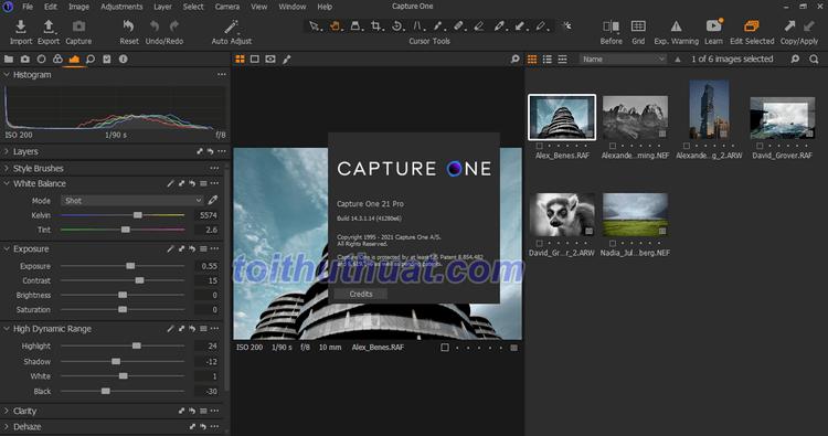 [Download & Cài Đặt] Capture One Pro 21 - Chỉnh sửa ảnh RAW