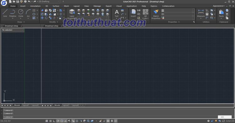 Tải và cài đặt GstarCAD 2021 - Phần mềm CAD