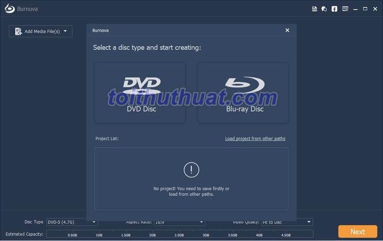 [Download] Aiseesoft Burnova 1- Tải và tạo đĩa DVD