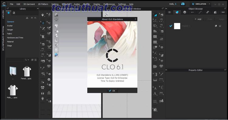Tính năng trong phần mềm CLO Standalone 6