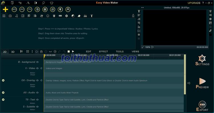 [Download] Easy Video Maker Platinum/ Gold 11 - Xử lý video