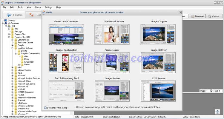 [Download] Graphics Converter Pro 5 - Chuyển đổi hình ảnh