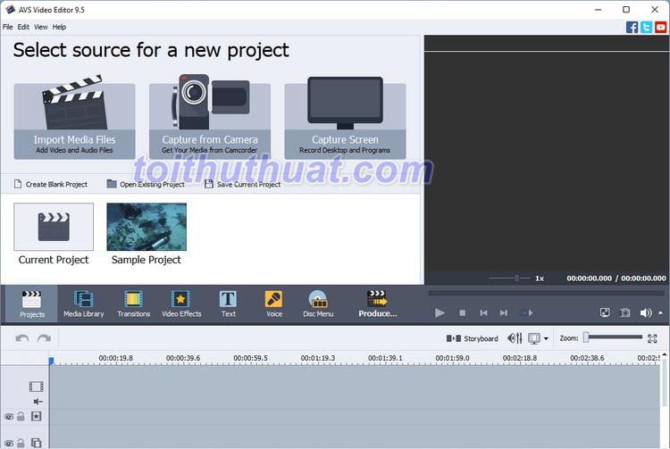[Download & Cài Đặt] AVS Video Editor - Chỉnh sửa video